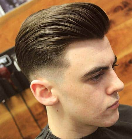 comb over receding hairline